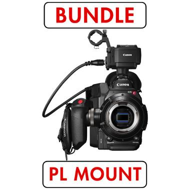 Canon C300 Mark II PL Mount Cinema Camera with Dual Pixel CMOS AF