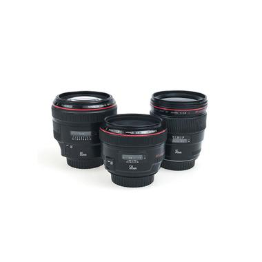 Canon Events Prime Lens Package