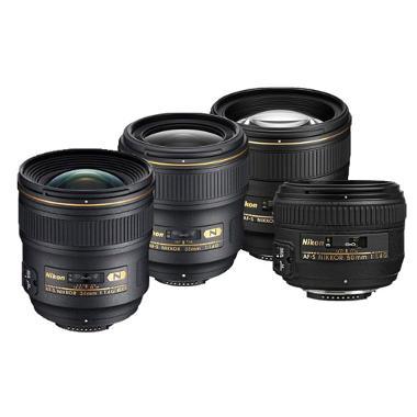 Nikon Four Lens Prime Package