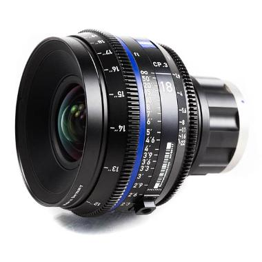 Zeiss CP.3 18mm T2.9 Lens for Sony E Mount