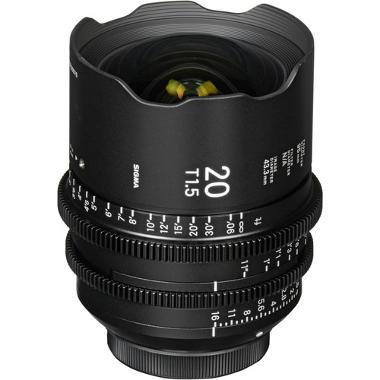 Sigma 20mm T1.5 Cine EF Mount