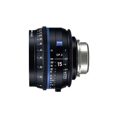 Zeiss CP.3 15mm T2.9 Lens for PL Mount