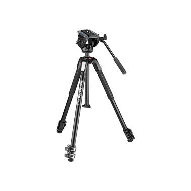 Manfrotto MVH500AH Head and MT190X3 Tripod Kit