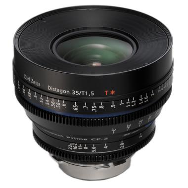 Zeiss Compact Prime CP.2 35mm/T1.5 Super Speed EF Mount