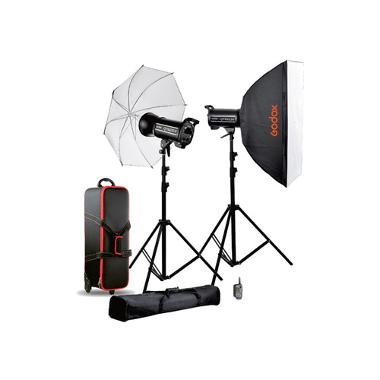 Godox QT600II 2-Light Studio Flash Kit