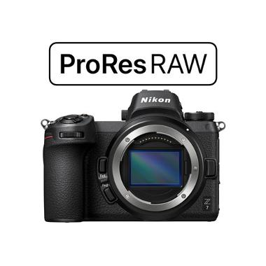 Nikon Z7 ProRes RAW Upgraded Mirrorless Camera