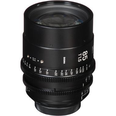 Sigma 85mm T1.5 EF Mount Cine Lens