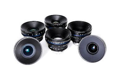 Zeiss Compact Prime CP.2 Cinema Lens Set (EF Mount)