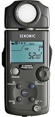Sekonic Prodigi Color C-500R Color Meter