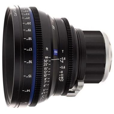 Zeiss Compact Prime CP.2 18mm/T3.6 Micro 4/3 Mount