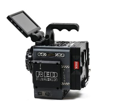 RED Scarlet-W 5K Dragon Sensor Camera with DSMC2 Accessories