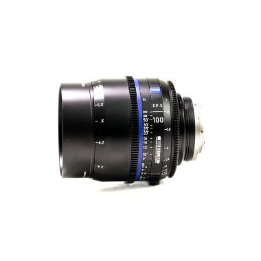 Zeiss CP.3 100mm T2.1 Lens for Canon EF Mount