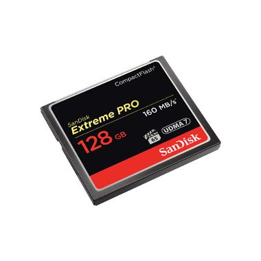 SanDisk 128GB CF Extreme Pro Memory Card