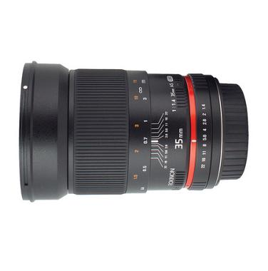 Rokinon 35mm f/1.4 US UMC Wide-Angle Lens for Nikon