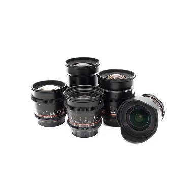 Rokinon Cine Lens Set (EF Mount)