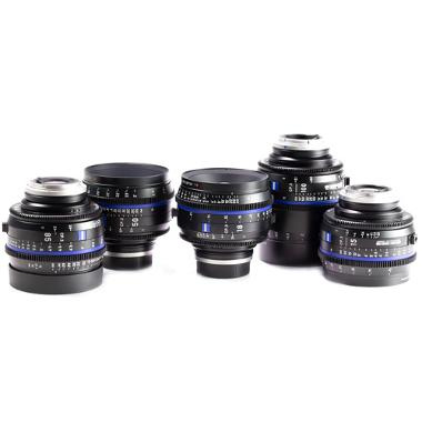 Zeiss CP.3 Cine Lens Set for Canon EF Mount