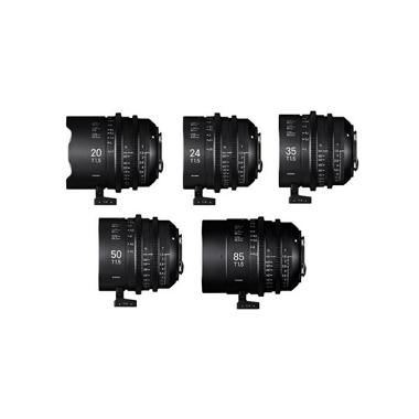 Sigma Cine High Speed Prime EF Mount Package