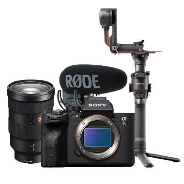 Sony a7S III Gimbal Video Kit