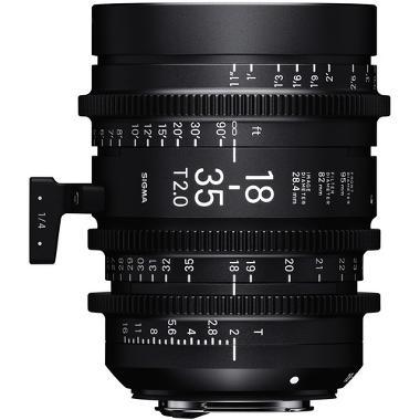 Sigma 18-35mm T2 Cine High Speed Zoom EF Mount Lens