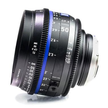 Zeiss CP.3 50mm T2.1 Lens for Canon EF Mount