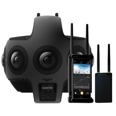Insta360 Titan Cinematic VR 360 11K Camera