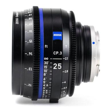 Zeiss CP.3 25mm T2.1 Lens for Canon EF Mount