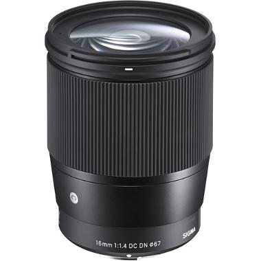Sigma 16mm f/1.4 DC DN Lens for Sony E Mount