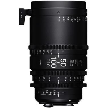 Sigma 50-100mm T2 Cine High Speed Zoom EF Mount Lens