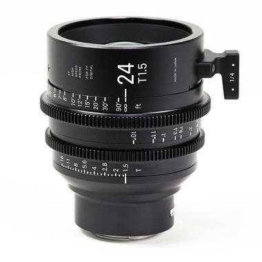 Sigma 24mm T1.5 E Mount Cine Lens