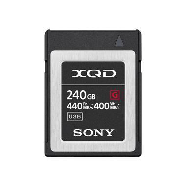 Sony 240GB G Series XQD 440MB/s Memory Card