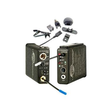 Lectrosonics 100 Series Wireless UHF Lavalier Mic Set (Freq Block 25)