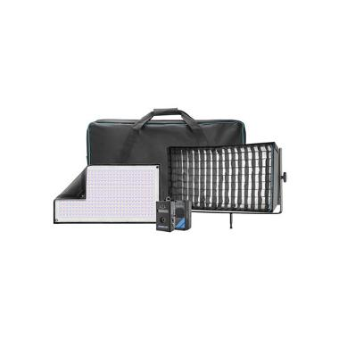 Westcott 1x2 Flex RGBW DMX LED Mat 1-Light Cine Travel Kit
