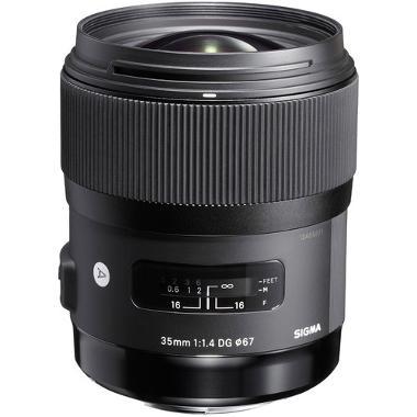 Sigma 35mm f/1.4 DG HSM A1 Lens for Nikon