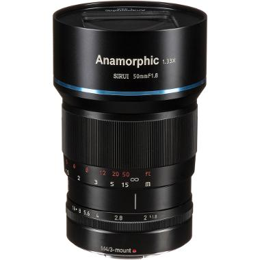 Sirui 35mm f/1.8 Anamorphic 1.33x Micro Four Thirds Lens