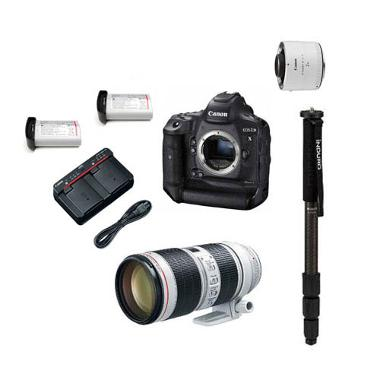 Canon 1D X Mark II Wildlife/Sports/Events Package