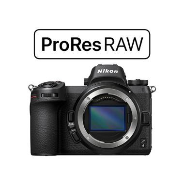 Nikon Z6 ProRes RAW Upgraded Mirrorless Camera
