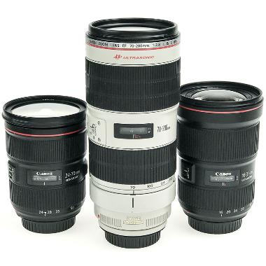Canon Events Zoom Lens Package