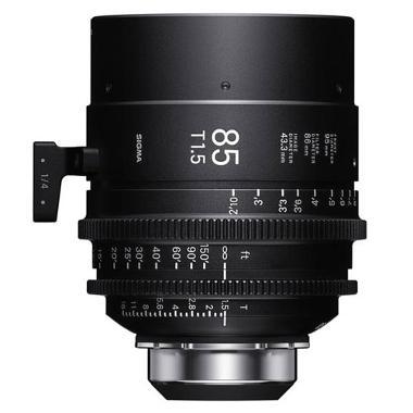 Sigma 85mm T1.5 PL Mount Cine Lens