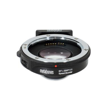Canon EF Lens to Blackmagic Pocket Cinema Camera Metabones Speed Booster