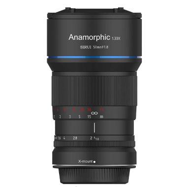 Sirui 50mm f/1.8 Anamorphic 1.33x Fuji X Mount