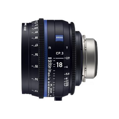Zeiss CP.3 18mm T2.9 Lens for PL Mount