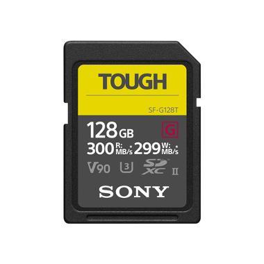 Sony 128GB SD 300MB/s UHS-II U3/V90 TOUGH Memory Card