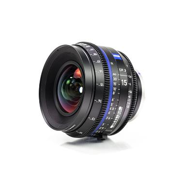 Zeiss CP.3 15mm T2.9 Lens for Canon EF Mount