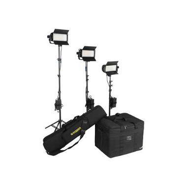 Lowel TotaLED 3-Light LED Floodlight Kit