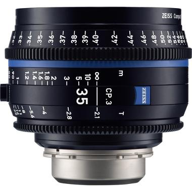 Zeiss CP.3 35mm T2.1 Lens for PL Mount