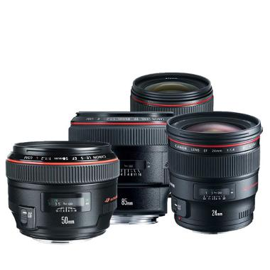 Canon Four Lens Prime Package