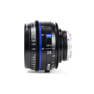 Zeiss CP.3 35mm T2.1 Lens for Canon EF Mount