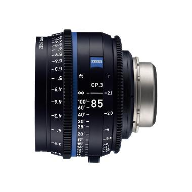 Zeiss CP.3 85mm T2.1 Lens for PL Mount