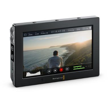 Blackmagic Video Assist 4K 7in HDMI/6G-SDI Recording Monitor