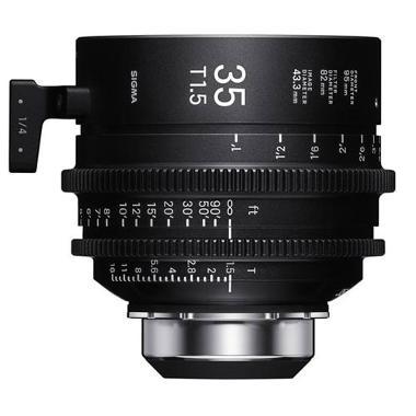 Sigma 35mm T1.5 PL Mount Cine Lens